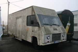 Der Step Van vor dem Umbau - ein eher trauriges Bild